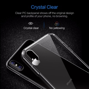 Ốp dẻo Rock Pure trong suốt iPhone X